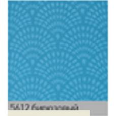 Ажур бирюза. рулонная ткань