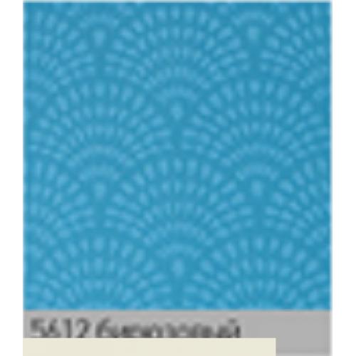 Ажур бирюза. рулонная ткань base-photo