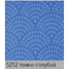 Ажур темно голубой. рулонная ткань