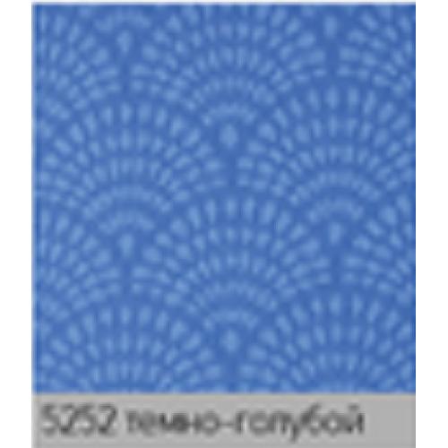 Ажур темно голубой. рулонная ткань base-photo