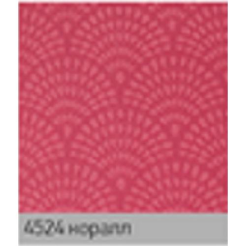 Ажур коралл. рулонная ткань base-photo