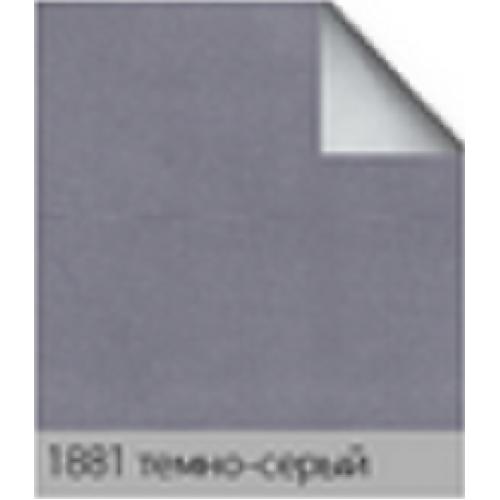 Альфа блек/аут темно серый. рулонная ткань base-photo