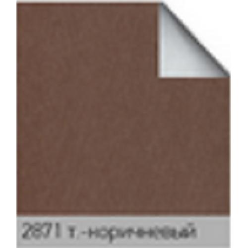 Альфа блек/аут коричневый. рулонная ткань  base-photo