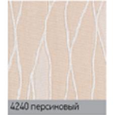 Жаккард блек/аут персик. вертикальная ткань