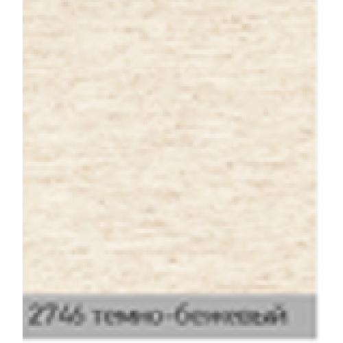 Лен б/аут темно бежевый. рулонная ткань  base-photo
