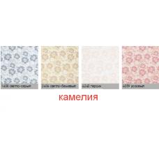 камелия. рулонная ткань с рисунком