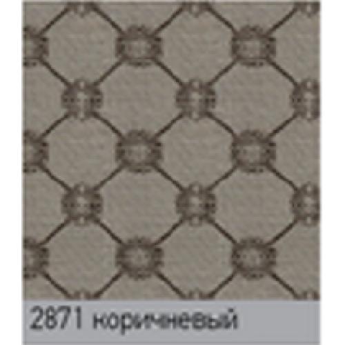 Виктория  коричневый. вертикальная ткань base-photo