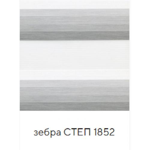 Степ серый. ткань зебра base-photo
