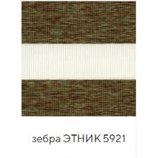 Этник зеленый. ткань зебра