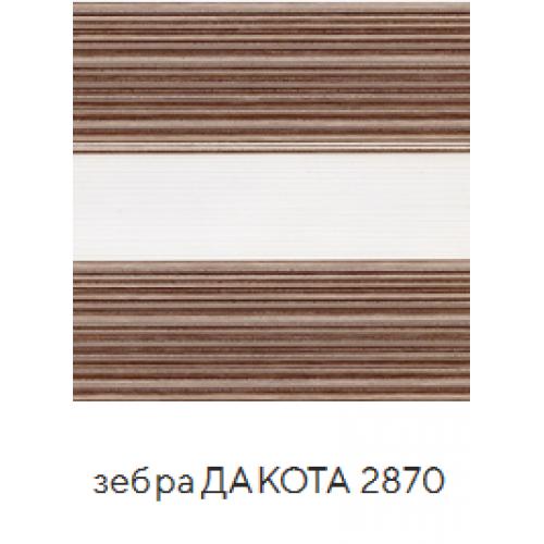 Дакота коричневый. ткань зебра base-photo